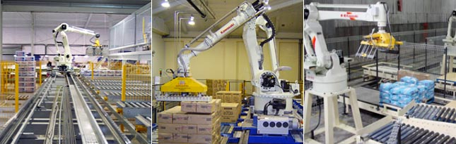 Image of Kawasaki Palletizing Robot Applications