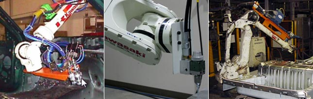 Image of Kawasaki Sealing and Dispensing Robot Applications