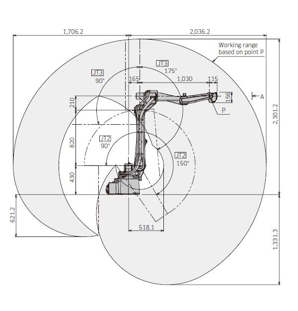 BA006L弧焊机器人
