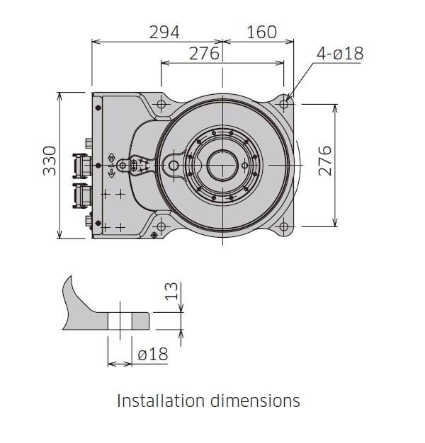 BA006L弧焊机器人机械手
