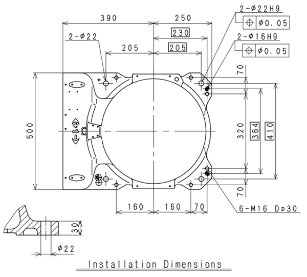 Kawasaki BX100S installation drawing