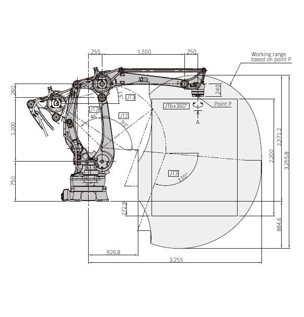 Kawasaki CP300L drawing