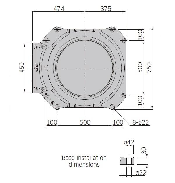Kawasaki CP180L drawing