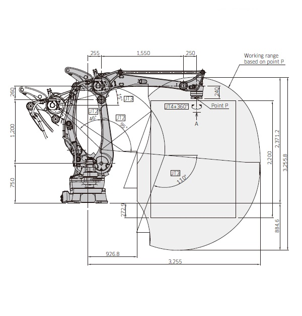 CP700L码垛机器人