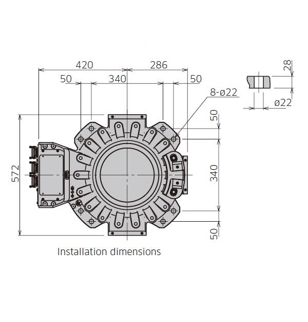 CX165L点焊机器人