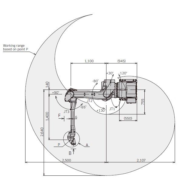 Kawasaki KJ264-wall drawing
