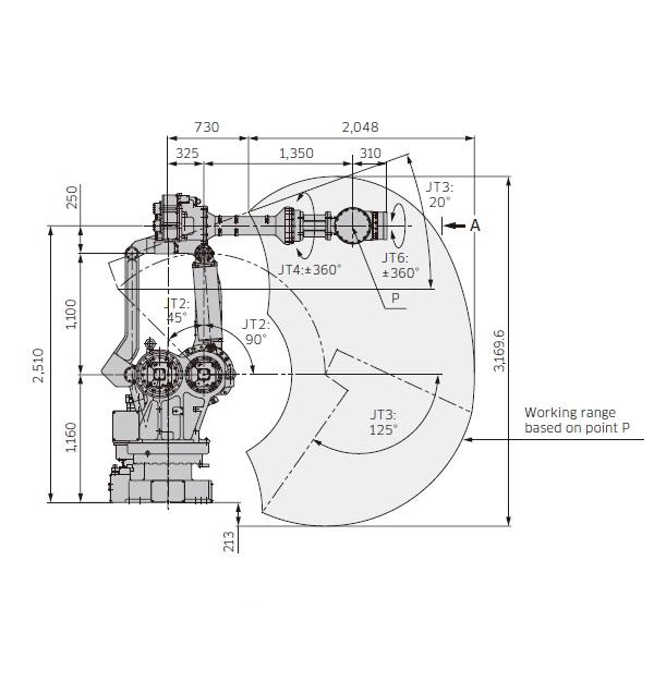 Kawasaki MX420L drawing