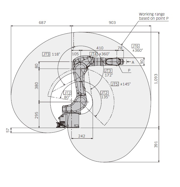 RA005L弧焊机器人