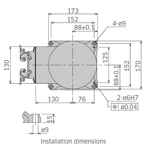 Kawasaki RA005L drawing