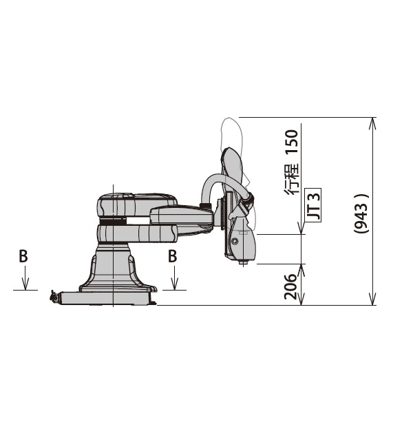 双手腕定位机器人duAro1